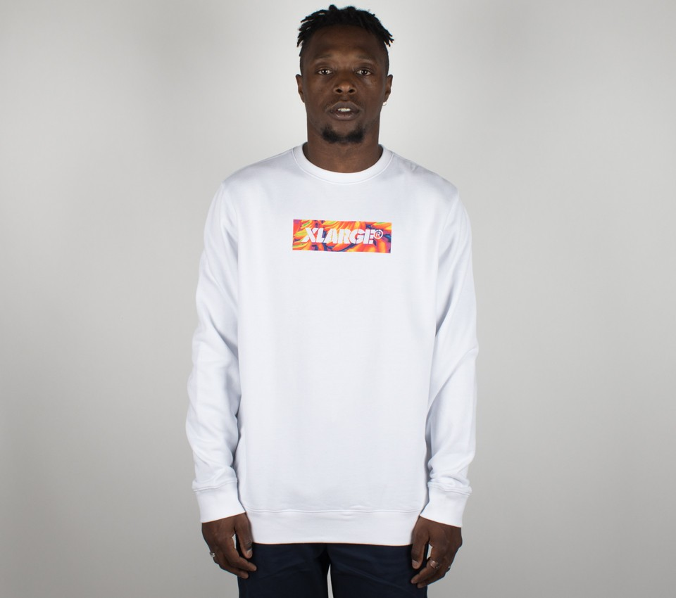 BONKERS BOX CREWNECK FLEECE