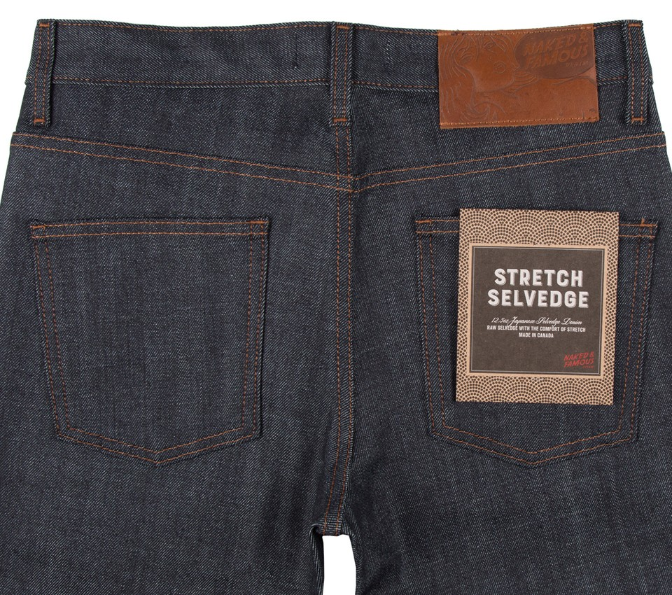 SUPERSKINNY - STRETCH SELVEDGE INDIGO