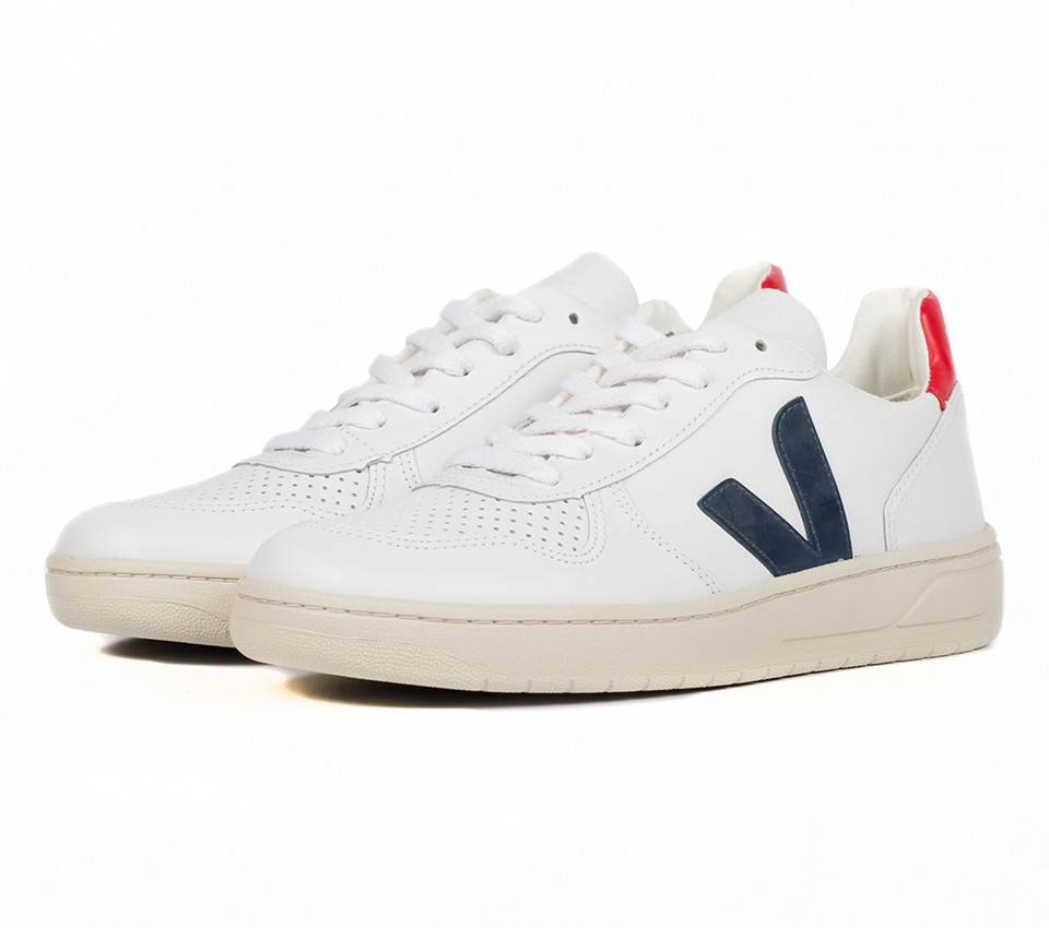 V10 LEATHER EXTRA WHITE NAUTICO