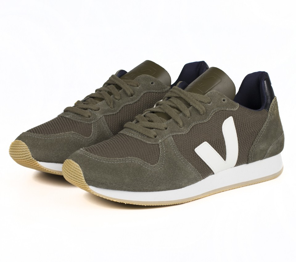 HOLIDAY LOW TOP B MESH OLIVE WHITE
