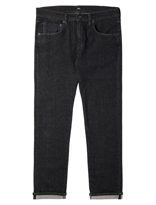 ED-55 CS RED LISTED BLACK DENIM
