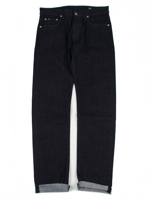 MODERN REGULAR TAPERED BLUE JAPANESE STRETCH DENIM