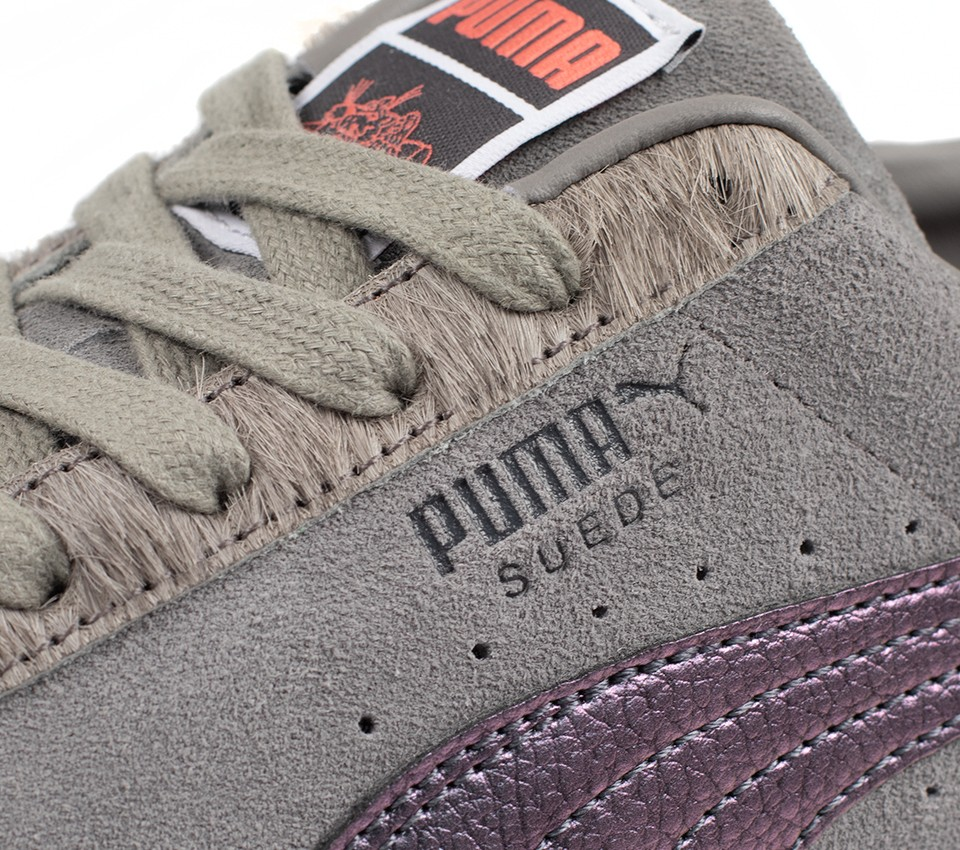 SUEDE CLASSIC X PIGEON