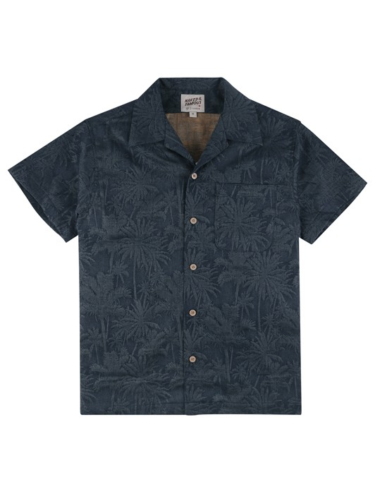ALOHA SHIRT DOUBLE JACQUARD TROPICAL