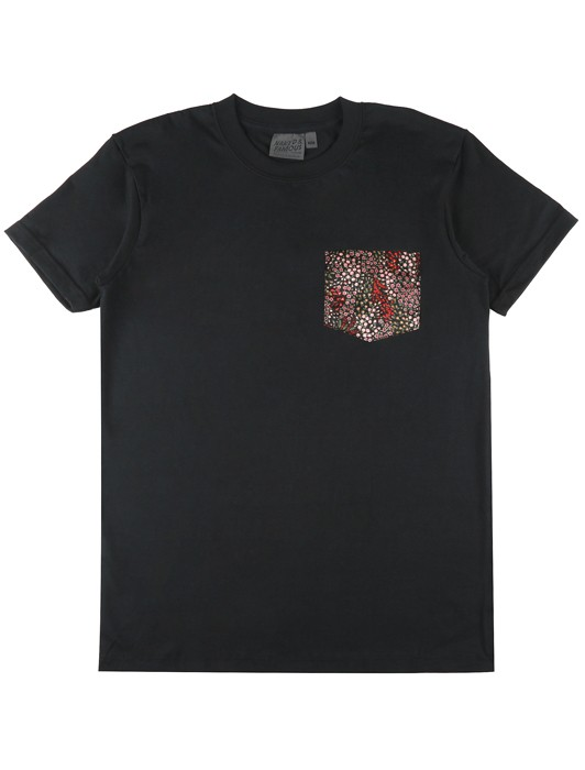 POCKET TEE ALL FLOWERS