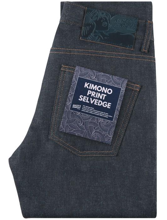 SUPER GUY KIMONO PRINT SELVEDGE