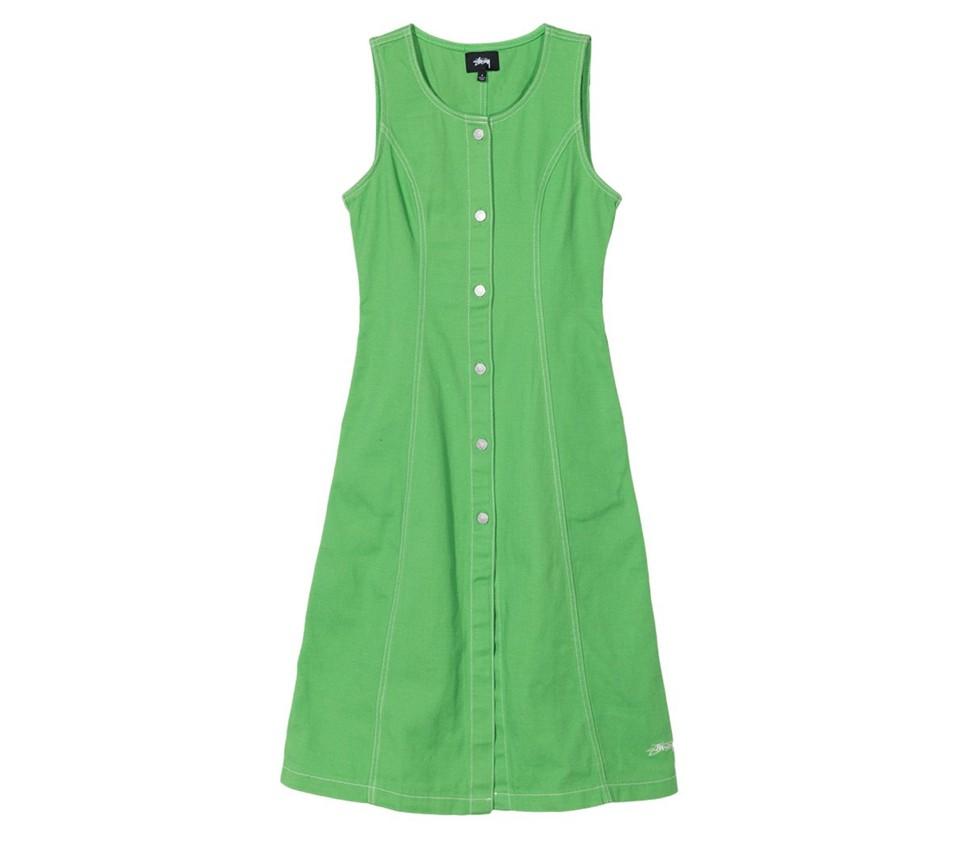 BAILEY CONTRAST STITCH DRESS