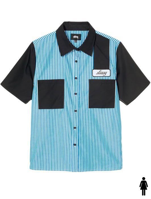 DORIS STRIPE GARAGE SHIRT