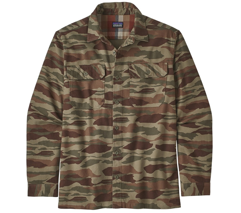 M'S LS FJORD FLANNEL SHIRT