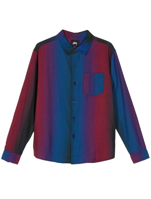 GRADUATED COLOR LONG SLEEVE SHIRT
