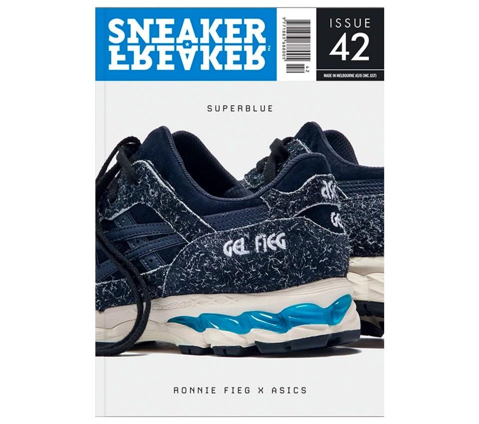 SNEAKER FREAKER MAGAZINE 42 : RONNIE FIEG ASICS COVER