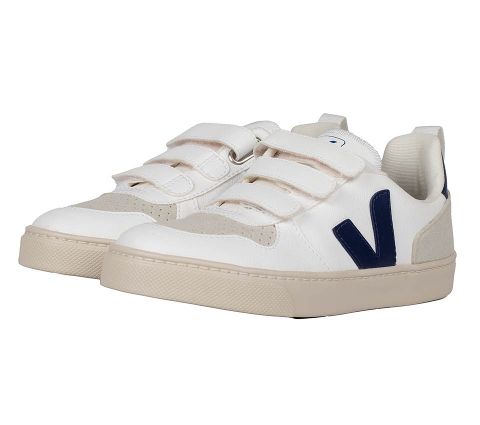 SMALL V-10 VELCRO CWL WHITE COBALT JUNIOR