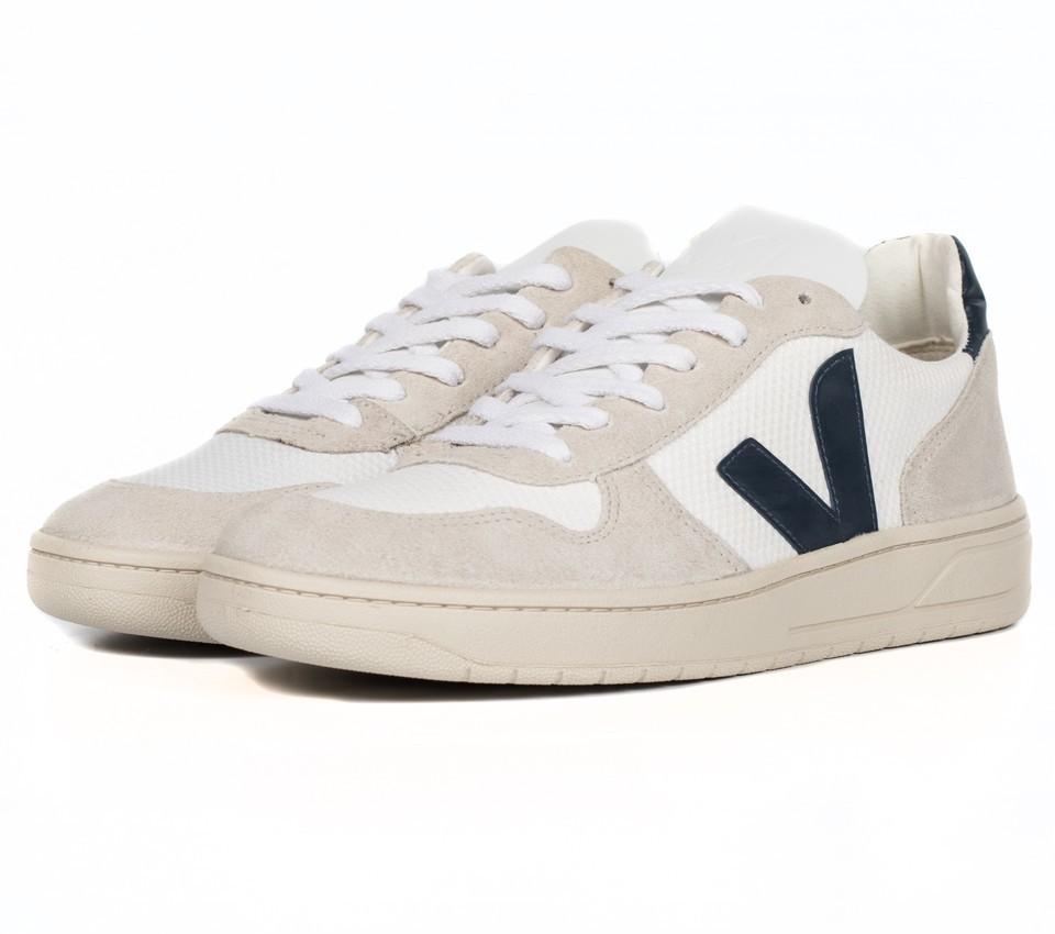 V-10 B MESH WHITE NAUTICO