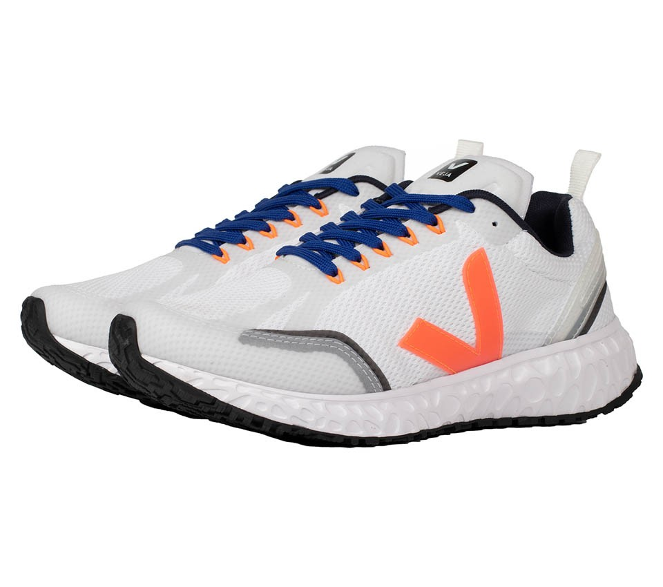 CONDOR MESH WHITE ORANGE FLUO