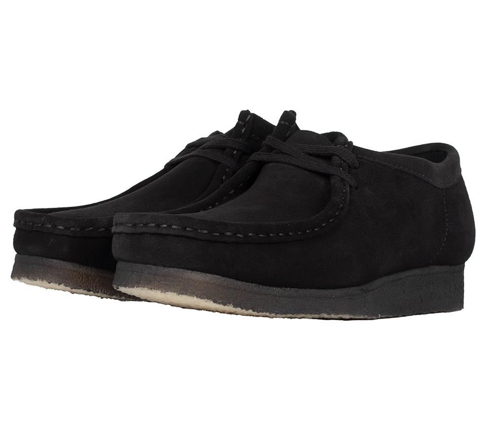 WALLABEE BLACK SOLE
