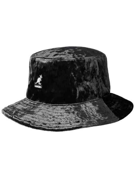 CRUSHED VELVET RAP HAT