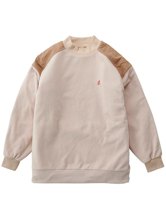 FLEECE MOCK NECK SHIRT