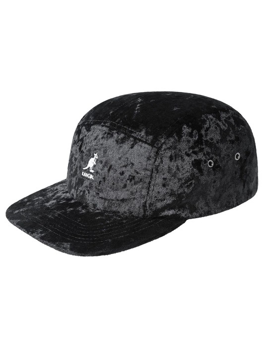 CRUSHED VELVET 5 PANEL CAP