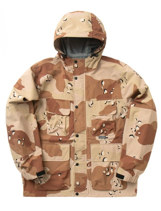 CAMO TAPED SEAM FIELD JACKET