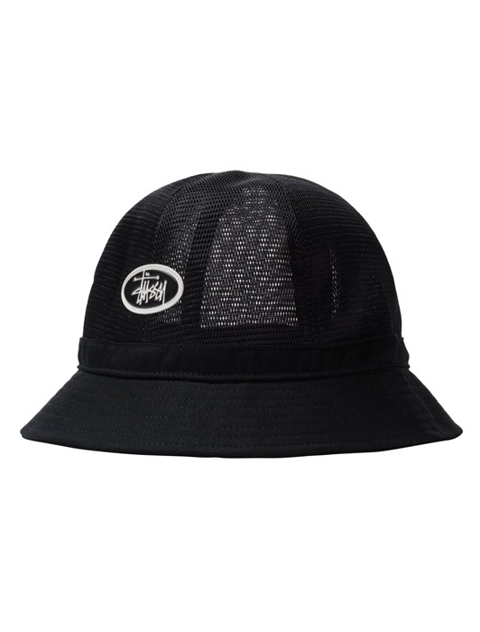 MESH CROW BELL BUCKET HAT
