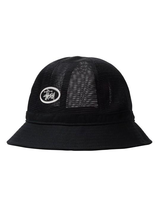 MESH CROW BELL BUCKET HAT