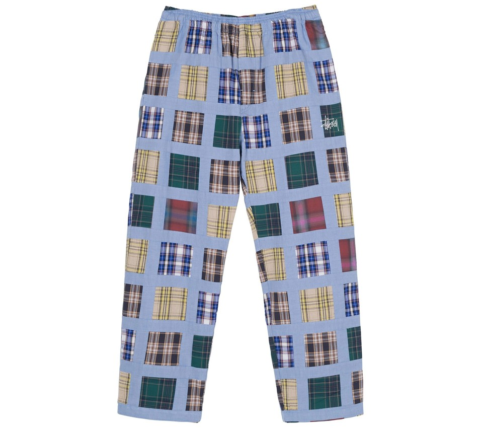 MADRAS PATCHWORK RELAXED PANT