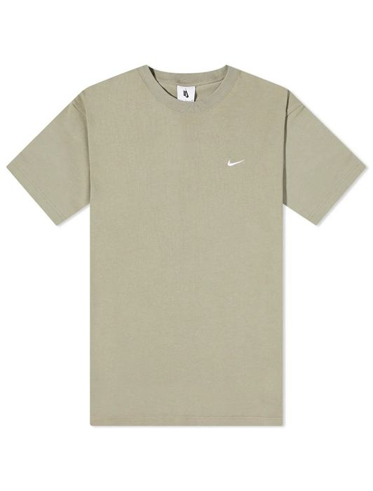 SOLO SWOOSH SS KNIT TOP